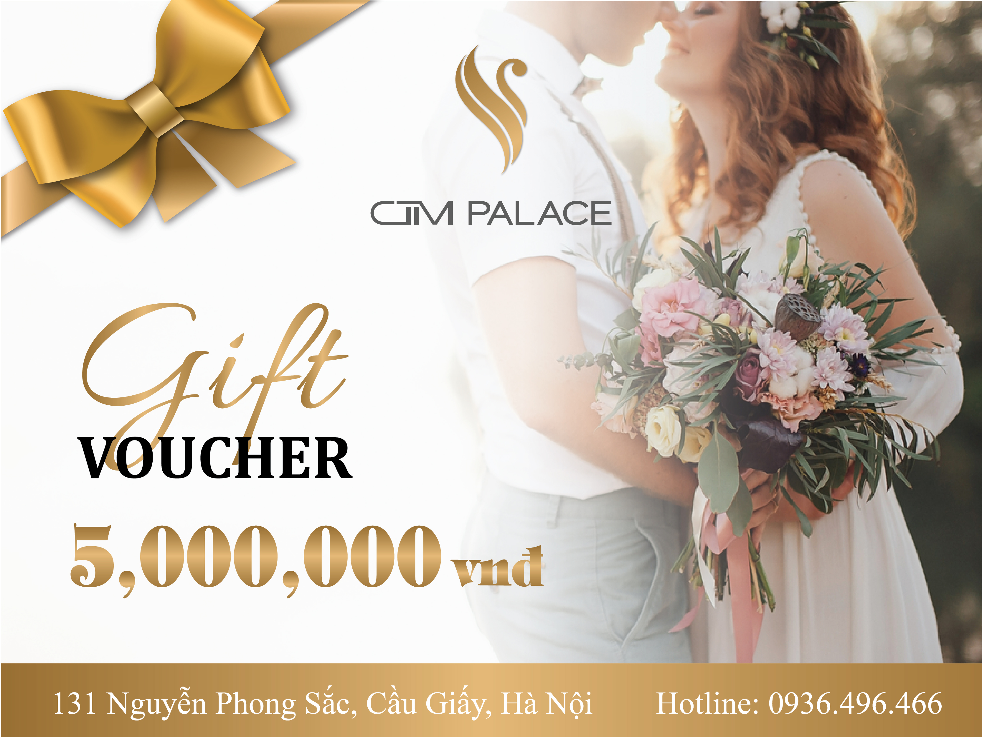 Tặng voucher 5.000.000VNĐ tưng bừng chào hè tại CTM Palace